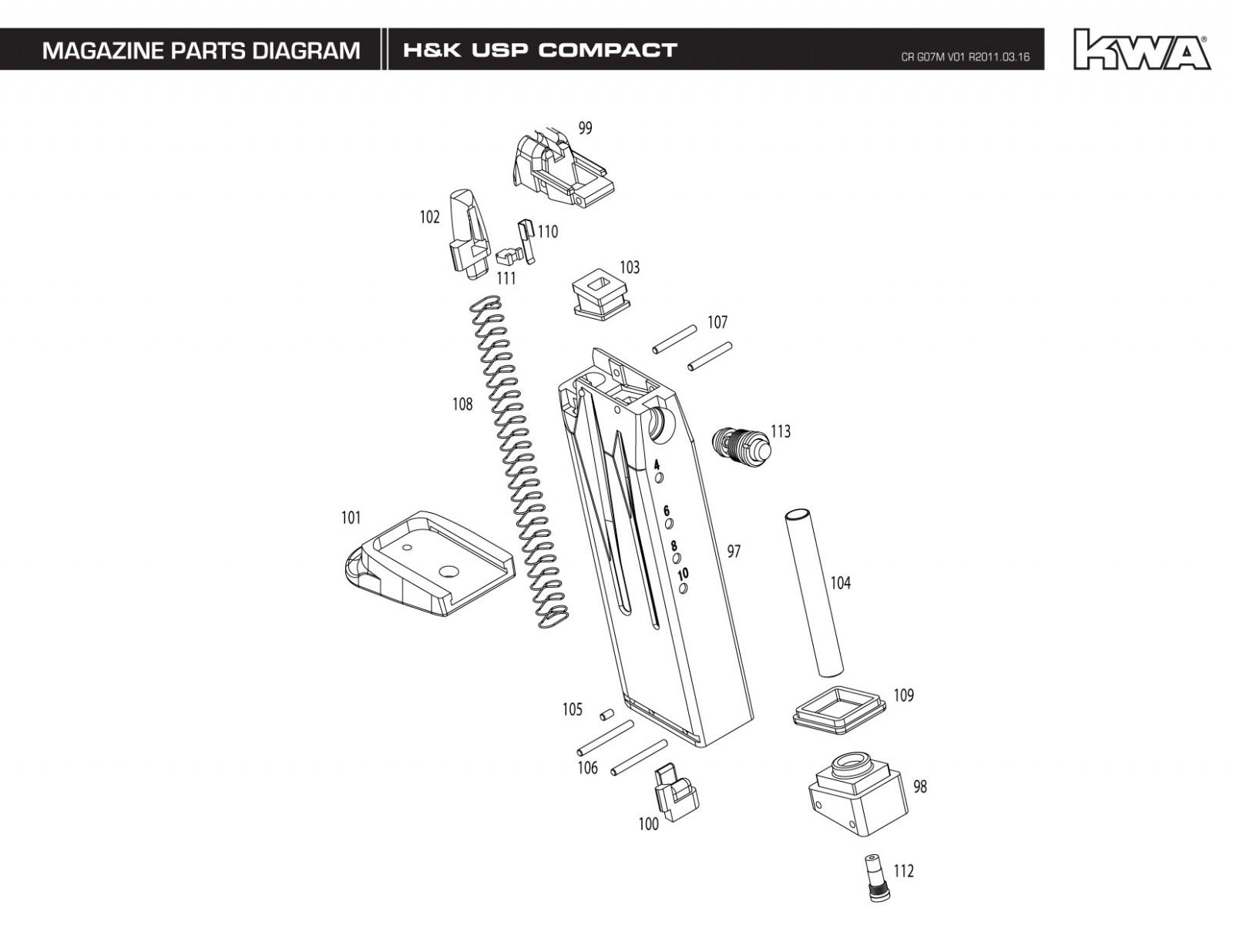 usp compact  u2013 kwa hk